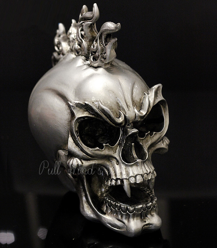 individuality skull head ghost decorative halloween festival resin decoration bar terror decorativechina mainland - Halloween Skull Decorations