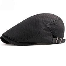 Chapéu de boina de boina de verão respirável boina de verão nova moda feminina simples duckbill boné liso motorista de malha de ivy