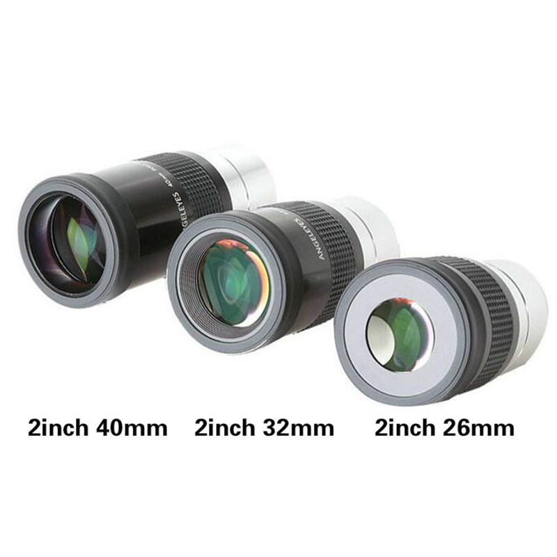 "NEW 2"" 26mm 30mm 40mm Eyepiece Metal Hd Fully Multi-coated For Professional Astronomy Telescope Monocular Binoculars Accessories"