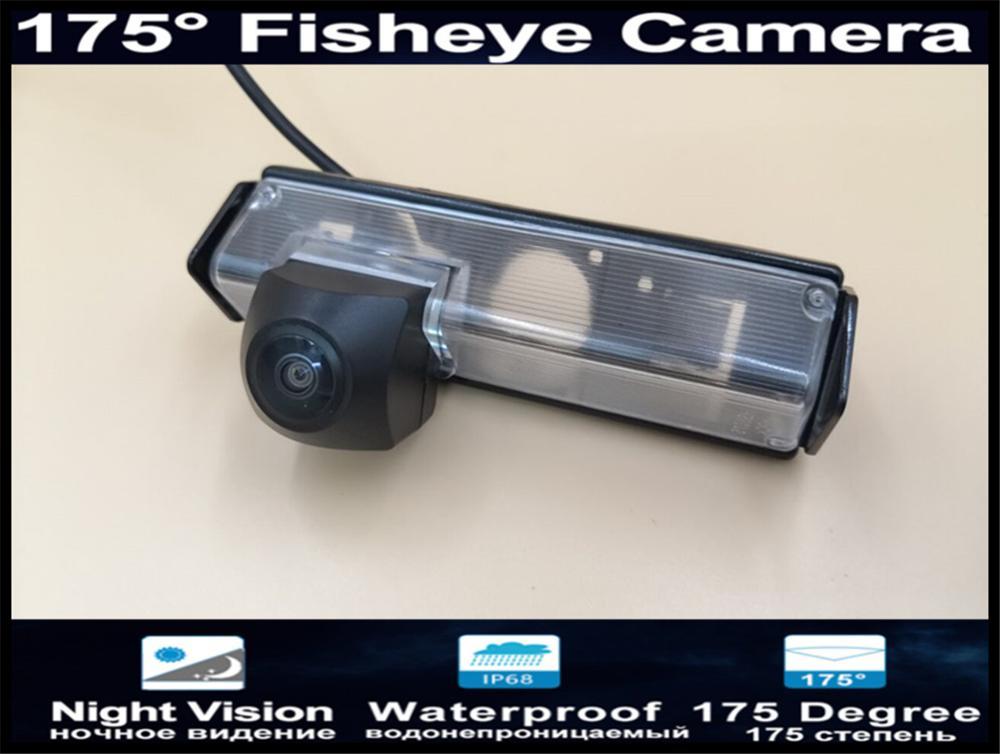 175 Degree 1080P Fisheye Lens Reverse Camera Parking Car Rear View Camera For Mitsubishi Pajero Sport Grandis Car Camera