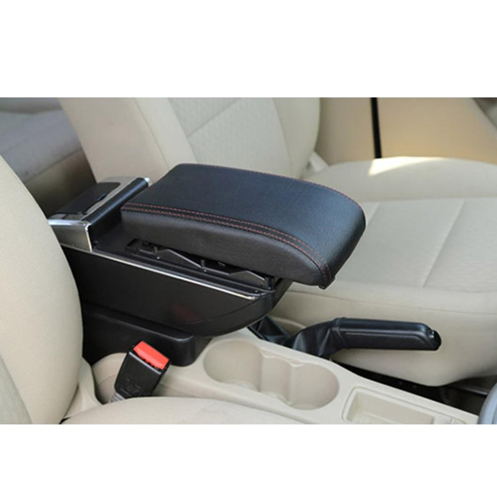Подлокотник коробка для Honda CR-Z CRZ центральной консоли Arm хранить содержимое коробки обладатель Кубка пепельница с ростом и вниз Функция стайлинга автомобилей - Color Name: Black