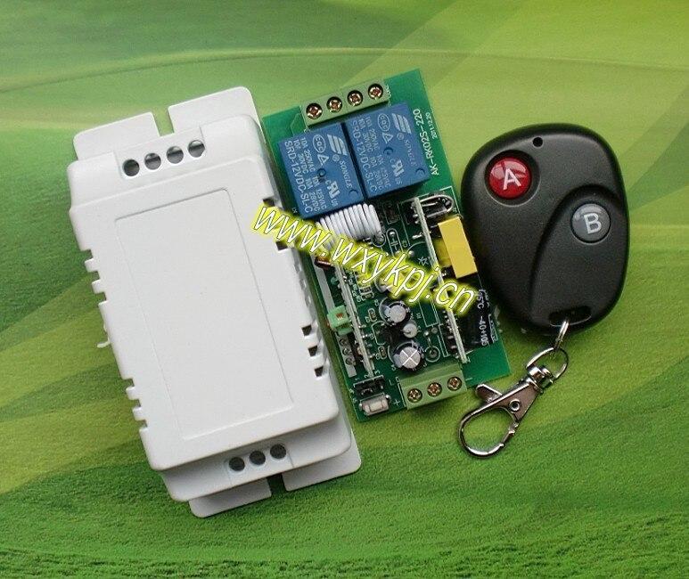 Sistema de control remoto inalámbrico AC85V-280V RF Inteligente de control Del h