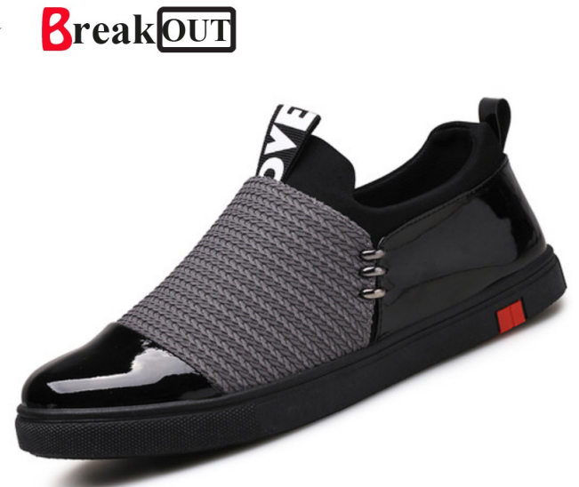 Break Out Men Casual Shoes italian Summer Trainers Zapatillas Deportivas Hombre Fashion Driving Shoes Men Flats Slip On Loafers 2017 new summer breathable men casual shoes autumn fashion men trainers shoes men s lace up zapatillas deportivas 36 45