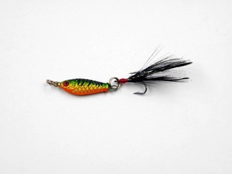 7 pcs Lot Laser Jigs Fishing Lures Metal Baits Iron Lead Jig Sea Tackle 7cm//21g