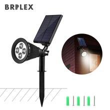 BRILEX Solar Path Lights Outdoors LED Rechargeable Waterproof Landscape Automatic Sensor Lights.