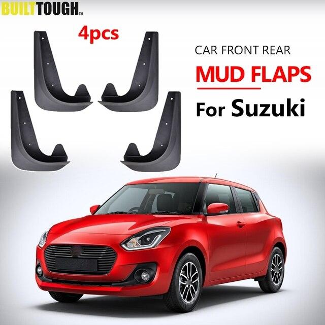 Set Universal Mudflaps Mud Flaps Splash Guards Mudguards For Suzuki Alto Vitara Ignis Swift Swift SX4 Aerio Kei Daewoo Magnus