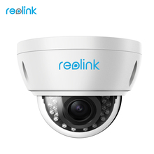 Reolink PoE IP Camera HD 4MP Autofocus Zoom Dome Outdoor Indoor Weatherproof Onvif Security Cam RLC-422(China)
