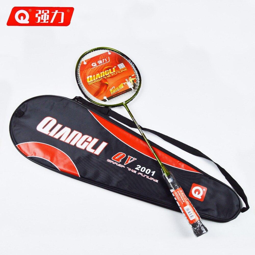 Authentic Qiangli2001 badminton racket 3U badminton raquette badminton badminton rackets