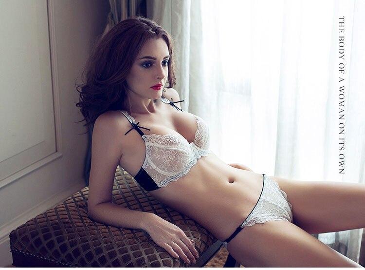 e685cdad2 Summer ultra thin ladies bra dress lace appeal sexy underwear ...
