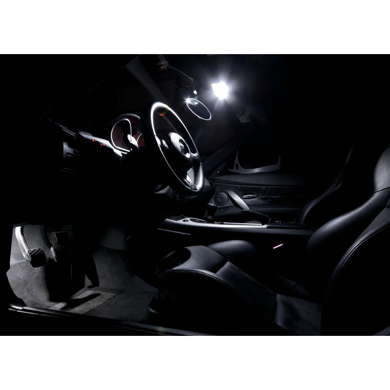 XIEYOU 9pcs Paquete de kit de luces interiores LED Canbus para Z - Luces del coche - foto 3