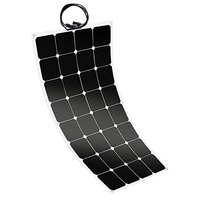 100W 12V Flexible Sunpower Solar Panel Battery Charger For Car Rv Marine Boat