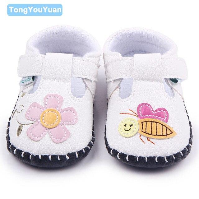 Caliente 8 diseños cosido a mano Zapatos de bebé TPR único hermoso ...