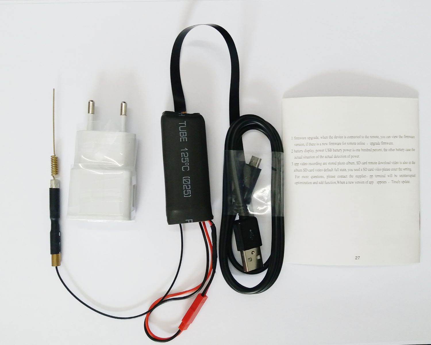 S06S WIFI Module Full Set CCTV Accesories 90 Degree Built In Battery 1800mah