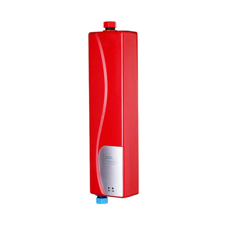 Hell Instant Elektrische Mini Tankless Wasser Heizung Heißer Durchlauferhitzer System Für Küche Bad R1001