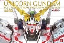 مجموعة بدلات متحركة من Bandai PG 1/60 RX  0 يونيكورن من Gundam بمجموعات لنموذج ألعاب من البلاستيك