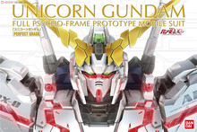 Bandai PG 1/60 RX  0 Unicorn Gundam Mobile Suit Assemble Model Kits Action Figures Plastic Model toys