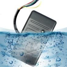 Контроль доступа Близость RFID Считыватель Wiegand 26/34 EM-ID 125 КГц Reader & ABS Корпус Водонепроницаемый Система Контроля Доступа F1693H