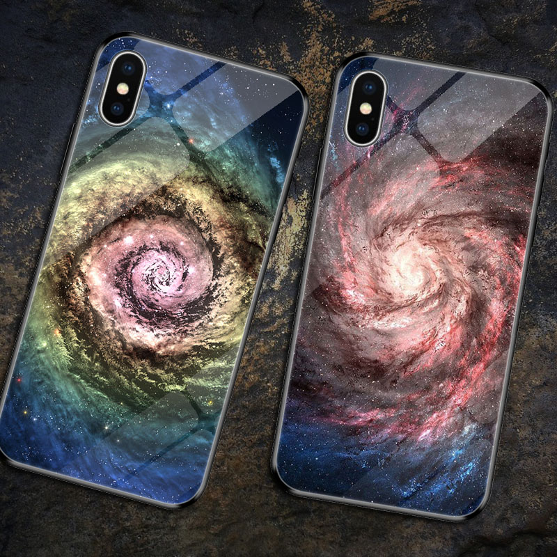 Coque iPhone XR Glass Cover For XS Max Case Tempered X MAX for Fundas