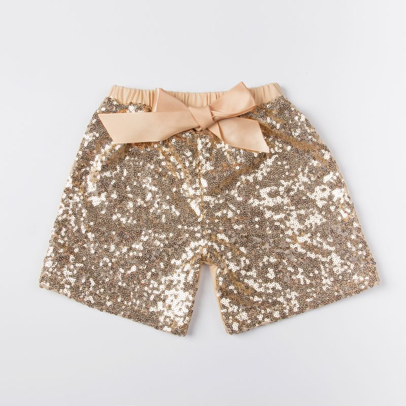 baby wholesale clothing sequin shorts,girls gold shorts,sequins petti shorts for baby girls,baby sequin shorts
