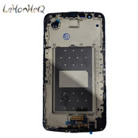 Test LCD With Frame For LG K10 LTE K420N K430 K430DS K410/ K10TV LCD Display Touch Screen Digitizer Assembly For LG K10TV LCD