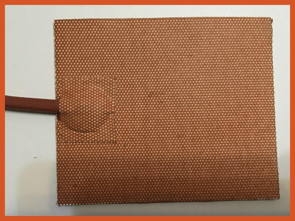 Silicone riscaldatore 320x250mm 12 v 200 w chauffage à l'huile élément chauffant silicone lit chauffant chauffage industriel silicone imprimante chaleur