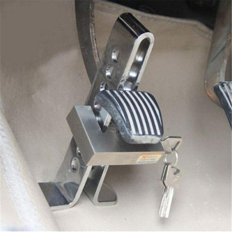 1 pièces Auto embrayage serrure volant voiture antivol serrure inoxydable fort sécurité serrure outil