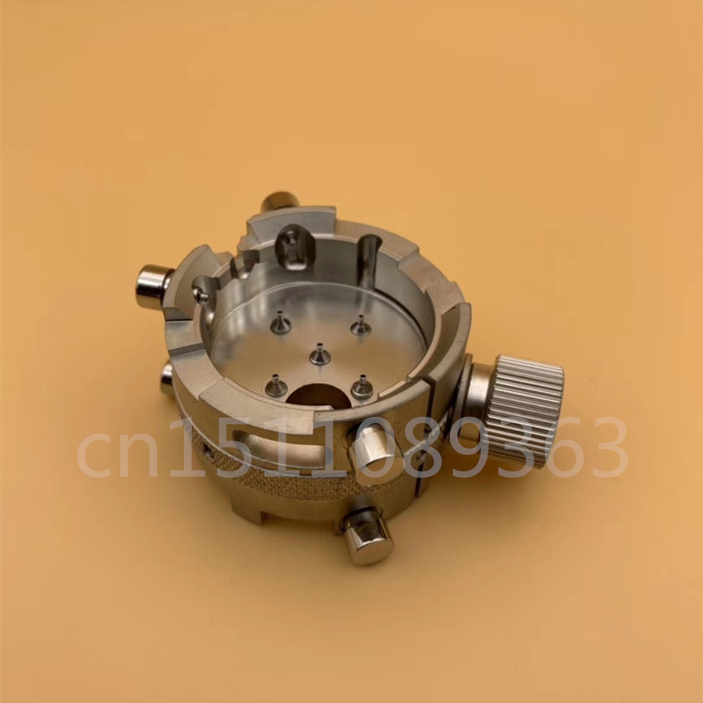 High Quality Reversible Watch Movement Holder For ETA7750 7753 Watch Repair Tool-in Repair Tools & Kits from Watches    1