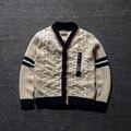 2015 nueva otoño invierno niños prendas de vestir exteriores niña niño Cardigan niños de la marca suéter manga larga chaquetas y abrigos