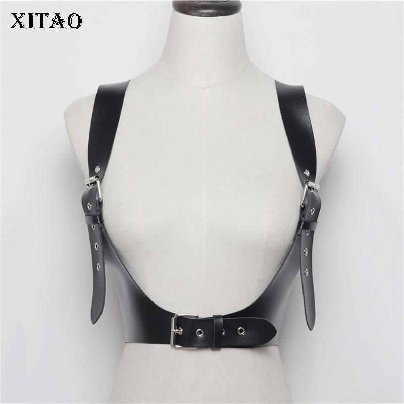 XITAO Sexy Fashion Women Cummerbunds Women Adjustable Strap Wild Joker 2019 Summer Korea Fashion New Elegant  P U WBB4333
