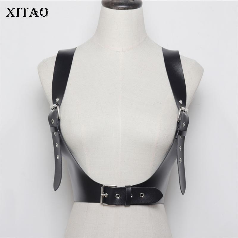 XITAO Sexy Fashion Women Cummerbunds Women Adjustable Strap Wild Joker 2019 Summer Korea Fashion New Elegant  P U WBB4333