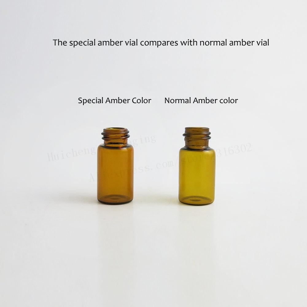 Image 4 - 100 x Top Quality 1ml 2ml 3ml Mini Cute Amber Small Glass Dropper Bottles Jars Essential Oil Perfume tiny portable bottles Vialsportable perfume bottleperfume oil bottlesoil perfume bottles -