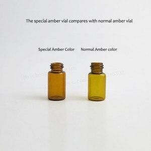 Image 5 - 100 x Top Quality 1ml 2ml 3ml Mini Cute Amber Small Glass Dropper Bottles Jars Essential Oil Perfume tiny portable bottles Vials