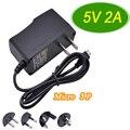 100-240V AC/DC 5V2A Universla Netzteil Micro USB Power Adapter 5 V Mini Usb Power coverter Ladegerät Zu AU/US/EU/UK Stecker 10W