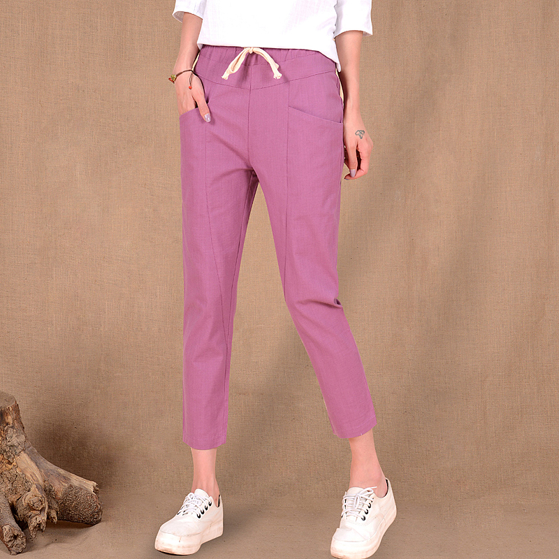 Compare Prices on Linen Ankle Pants- Online Shopping/Buy Low Price ...