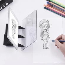 Детская оптическая доска для рисования ноутбука, проектор, краска, Трассировка, эскиз, инструменты для рисования, проектор, доска для рисования, подарок для детей