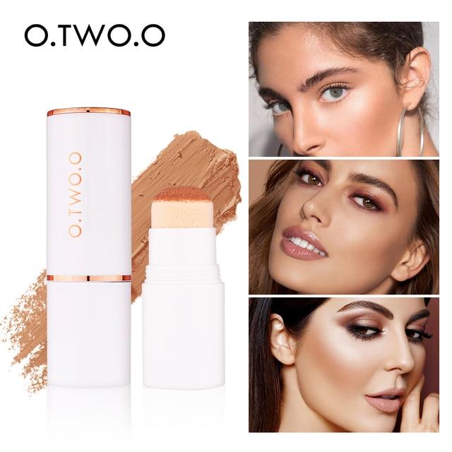 O dos, O corrector de la cubierta completa de la Fundación maquillaje corrector Círculos oscuros contorno cara Base corrector crema de maquillaje cosmético