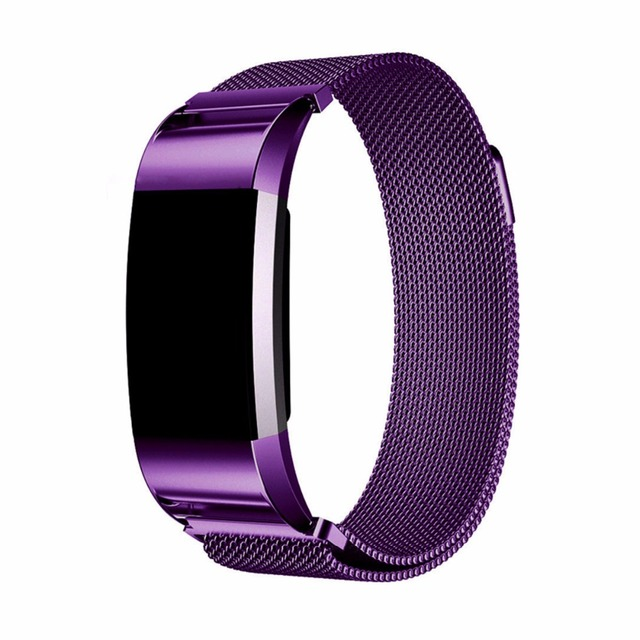 2902b439fdc9 CRESTED Milanese Loop strap for Fitbit Charge 2 band replacement wristband  Link Bracelet Stainless Steel Band for fitbit charge2
