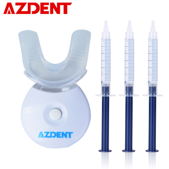 3x gels with 1x mini LED Lamp Teeth Whitening Light Lamp Kit Home Teeth Tooth Whitener Kits Bleaching Dental Oral Care Cleaning