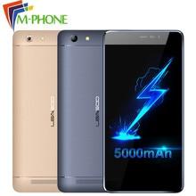Оригинальный leagoo Shark 5000 мобильный телефон 5.5 inch MTK6580A Quad Core Android 6.0 1 ГБ Оперативная память 8 ГБ Встроенная память 13MP + 8.0MP 5000mA 3 г смартфон