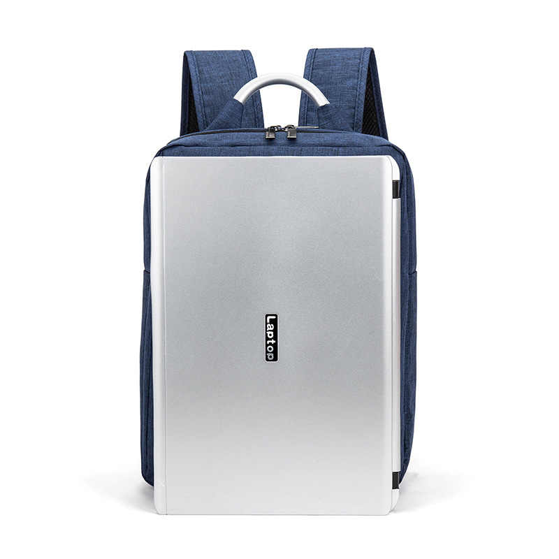 Оксфорд мужской деловой рюкзак 2018 Новая мода мужской рюкзак сумка школьная сумка