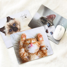 FXSUM New High Quality Cute Cat Pattern Durable Gaming Optical Computer Mouse Mat Mice Pads Soft Silicone Mouse Pad