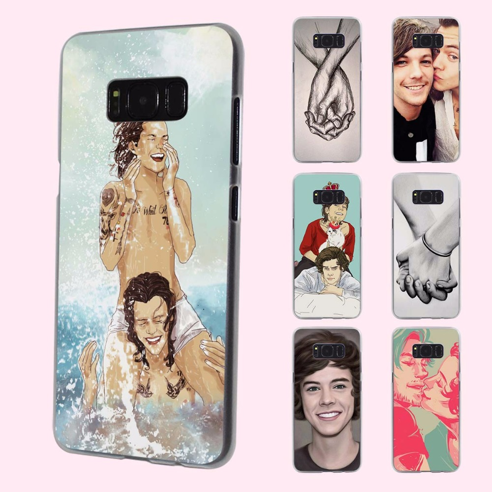 Styles one direction harry styles design transparent phone shell Case for Samsung Galaxy S8 Plus S6 S7edge S5 S4 mini Note 7 5
