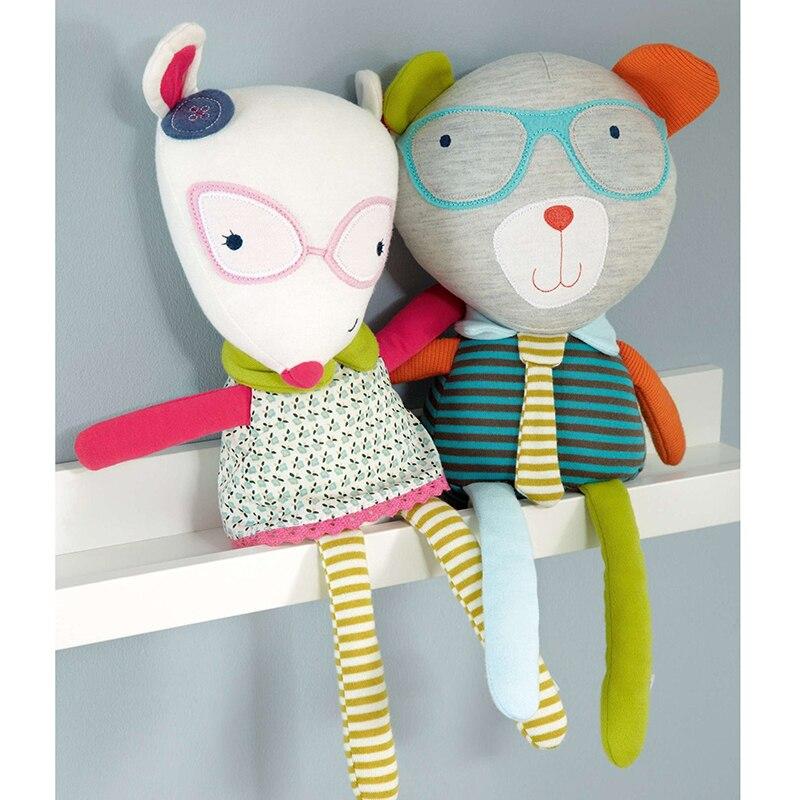 1 Pc Kartun Hewan Lembut Lucu Anak Perempuan Menenangkan Cincin Mewah Boneka  Boneka Bayi Mainan Kerincingan Pendidikan Mainan Hadiah Ulang Tahun Natal  di ... 37e3f6e3f9