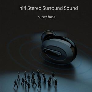 Image 4 - OUSU Unsichtbare Bluetooth 5,0 Kopfhörer TWS mini Drahtlose Kopfhörer Sport Earbuds Freisprechen Hörer écouteur sans fil bluetooth