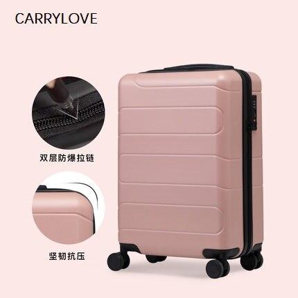 Высокое качество, красочные Гладкий минималистский 16/20/24/28 inch размер ПК Rolling Чемодан Spinner бренд дорожного чемодана