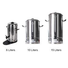 ITOP Commercial 6/10/15L Coffee Maker Machine Coffee Powder Cooker With Filter Basket Kitchen Bevarage Cooking Tools