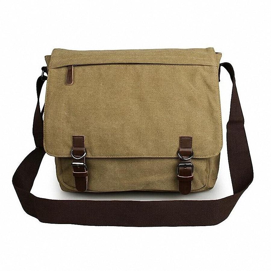 ФОТО Man casual laptop briefcase Vintage Canvas bags Men's Crossbody Bag Shoulder men Messenger Bag travel bag free shipping LI-1300