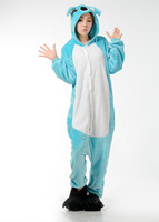 Unisex Flannel Adult Pajamas Pyjamas Women Onesie Men Costume Animal Onesies Cartoon Sleepwear High quality