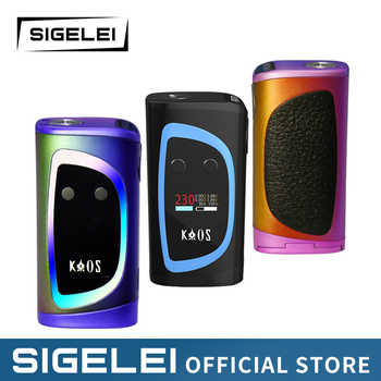 Newest Design high power vape 10W-230W e Electronic Cigarette Sigelei Kaos Spectrum with colorful LED - DISCOUNT ITEM  25% OFF All Category
