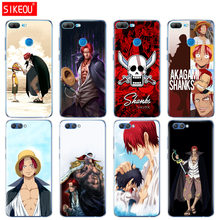 Silicone Cover phone Case for Huawei Honor 10 V10 3c 4C 5c 5x 4A 6A 6C pro 6X 7X 6 7 8 9 LITE One Piece Shanks anime Red Hair(China)